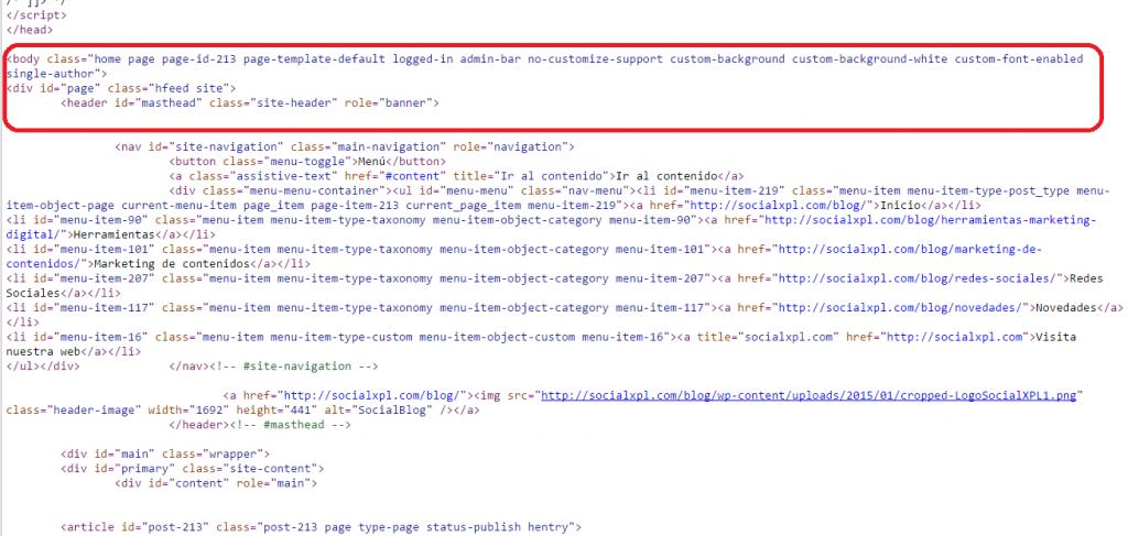 Error múltiple h1 en WordPress