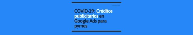 Créditos publicitarios Google Ads para pymes