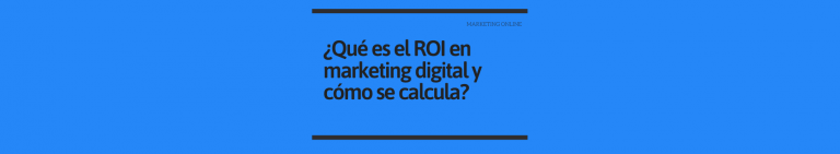 ROI Marketing online