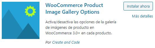 Eliminar zoom, lightbox y carrusel en producto Woocommerce con plugin